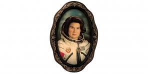 Портрет Валентины Терешковой