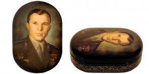 Портрет Юрия Гагарина
